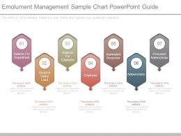 Emolument Management Sample Chart Powerpoint Guide