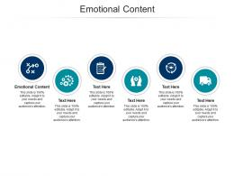 Emotional Content Ppt Powerpoint Presentation Slides Templates Cpb