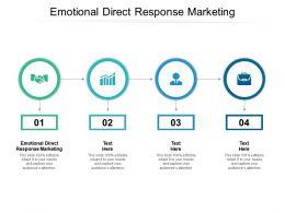 Emotional Direct Response Marketing Ppt Powerpoint Presentation File Graphics Cpb