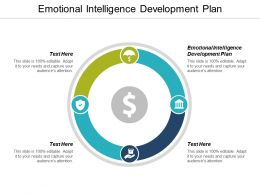 Emotional Intelligence Development Plan Ppt Powerpoint Presentation Gallery File Formats Cpb