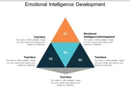 Emotional Intelligence Development Ppt Powerpoint Presentation Styles Good Cpb