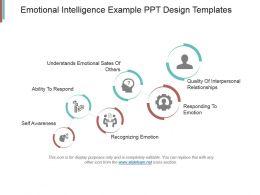 Emotional Intelligence Example Ppt Design Templates