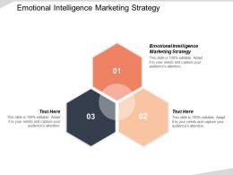 Emotional Intelligence Marketing Strategy Ppt Powerpoint Presentation Gallery Files Cpb