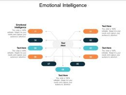 Emotional Intelligence Ppt Powerpoint Presentation Icon Themes Cpb
