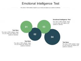 Emotional Intelligence Test Ppt Powerpoint Presentation Pictures Introduction Cpb