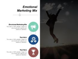 Emotional Marketing Mix Ppt Powerpoint Presentation Gallery Background Cpb