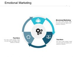 Emotional Marketing Ppt Powerpoint Presentation Pictures Graphics Design Cpb