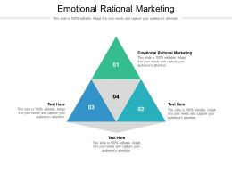 Emotional Rational Marketing Ppt Powerpoint Presentation File Background Images Cpb