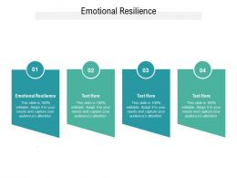 Emotional Resilience Ppt Powerpoint Presentation Icon Slide Download Cpb