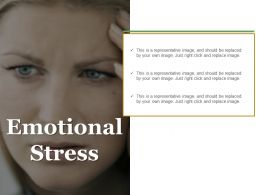 Emotional Stress Powerpoint Slides Templates