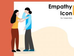Empathy Icon Depicting Logical Ethnicity Relationship Intelligence Connected
