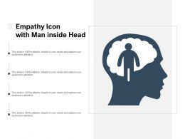 Empathy Icon Man Inside Head