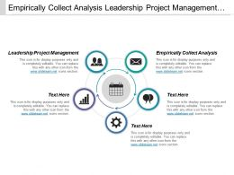 Empirically Collect Analysis Leadership Project Management Supply Management