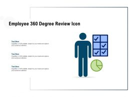 Employee 360 Degree Review Icon
