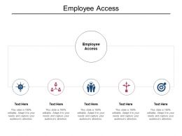 Employee Access Ppt Powerpoint Presentation Show Cpb