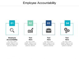 Employee Accountability Ppt Powerpoint Presentation Model Background Designs Cpb