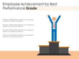 Employee Achievement By Best Performance Grade