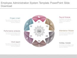 Employee Administration System Template Powerpoint Slide Download