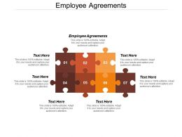 Employee Agreements Ppt Powerpoint Presentation File Information Cpb