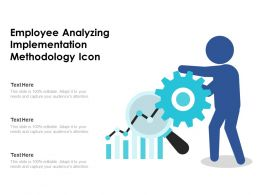 Employee Analyzing Implementation Methodology Icon