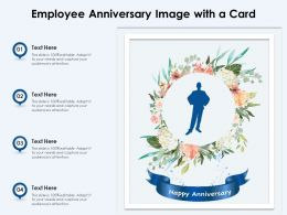 Employee Anniversary Image With A Card