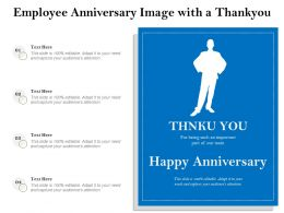 Employee Anniversary Image With A Thankyou