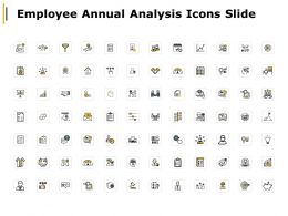 Employee Annual Analysis Icons Slide Innovation Communication Ppt Powerpoint Presentation
