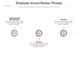 Employee Annual Review Phrases Ppt Powerpoint Presentation Icon Guide Cpb