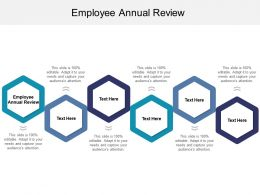 Employee Annual Review Ppt Powerpoint Presentation Gallery Layout Ideas Cpb