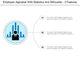 Employee Appraisal With Statistics And Silhouette 3 Features