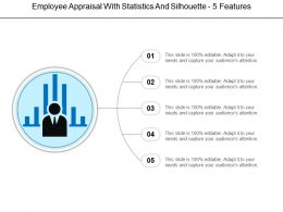 Employee Appraisal With Statistics And Silhouette 5 Features
