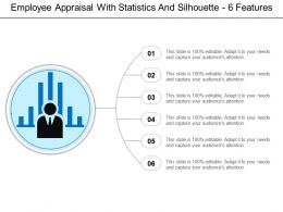 Employee Appraisal With Statistics And Silhouette 6 Features