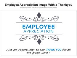 Employee Appreciation Image With A Thankyou