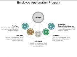 Employee Appreciation Program Ppt Powerpoint Presentation Outline Slide Cpb