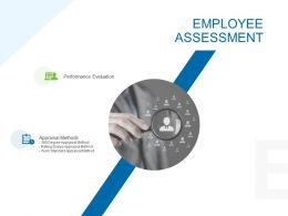 Employee Assessment Management Ppt Powerpoint Presentation Outline