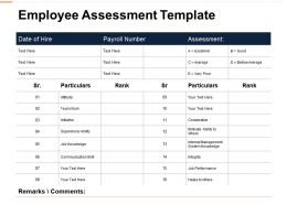Employee Assessment Supervisory Ability Ppt Powerpoint Presentation File
