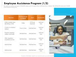 Employee Assistance Program Communication Ppt Gallery