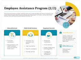 Employee Assistance Program Legal Consultations Ppt Powerpoint Rules