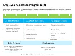 Employee Assistance Program Legal M2256 Ppt Powerpoint Presentation Show Images