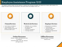 Employee Assistance Program Services Ppt Styles Design Inspiration
