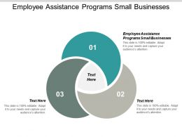 Employee Assistance Programs Small Businesses Ppt Powerpoint Presentation Inspiration Structure Cpb