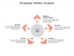 Employee Attrition Analysis Ppt Powerpoint Presentation Slides Professional Cpb