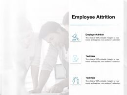 Employee Attrition Ppt Powerpoint Presentation Outline Elements Cpb