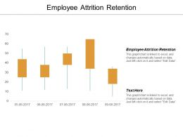 Employee Attrition Retention Ppt Powerpoint Presentation File Guide Cpb