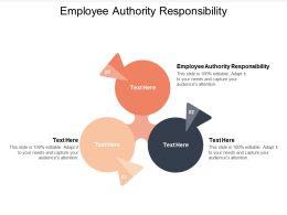 Employee Authority Responsibility Ppt Powerpoint Presentation Summary Topics Cpb