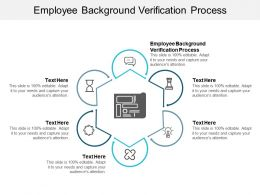 Employee Background Verification Process Ppt Powerpoint Presentation Infographics Cpb