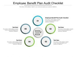 Employee Benefit Plan Audit Checklist Ppt Powerpoint Presentation Infographics Themes Cpb