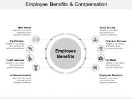 Employee Benefits And Compensation Ppt Background Designs