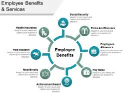 Employee Benefits And Servies Ppt Background Images