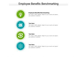 Employee Benefits Benchmarking Ppt Powerpoint Presentation File Layout Cpb